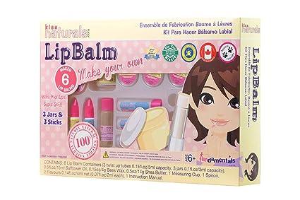 Kiss Naturals Lip Balm Kit Organic Diy Lip Balm Making Kit For Kids 100 Safe And Organic Creative Kit For Girls And Boys