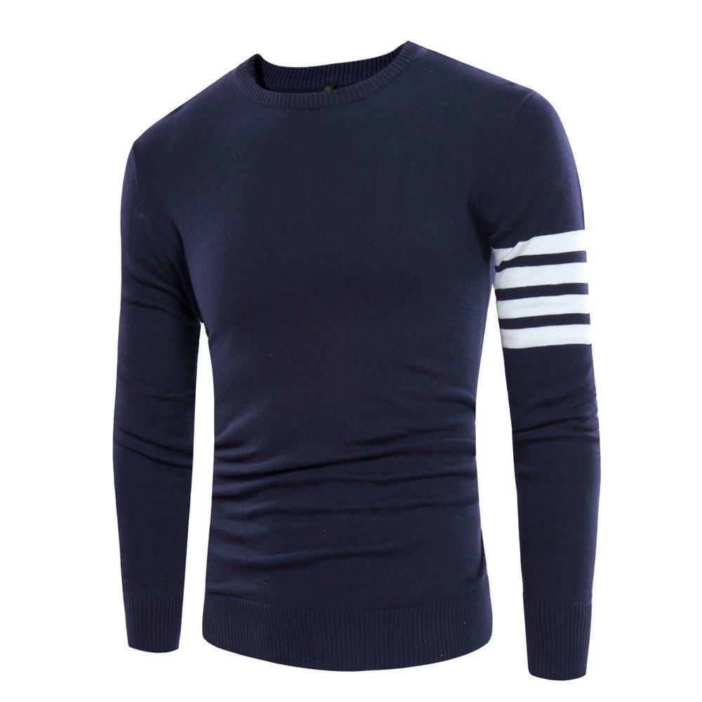 Gndfk männer - Winter Pullover Mode männer Pullover Rollkragen - Pullover,Tibet Marine,XXXL