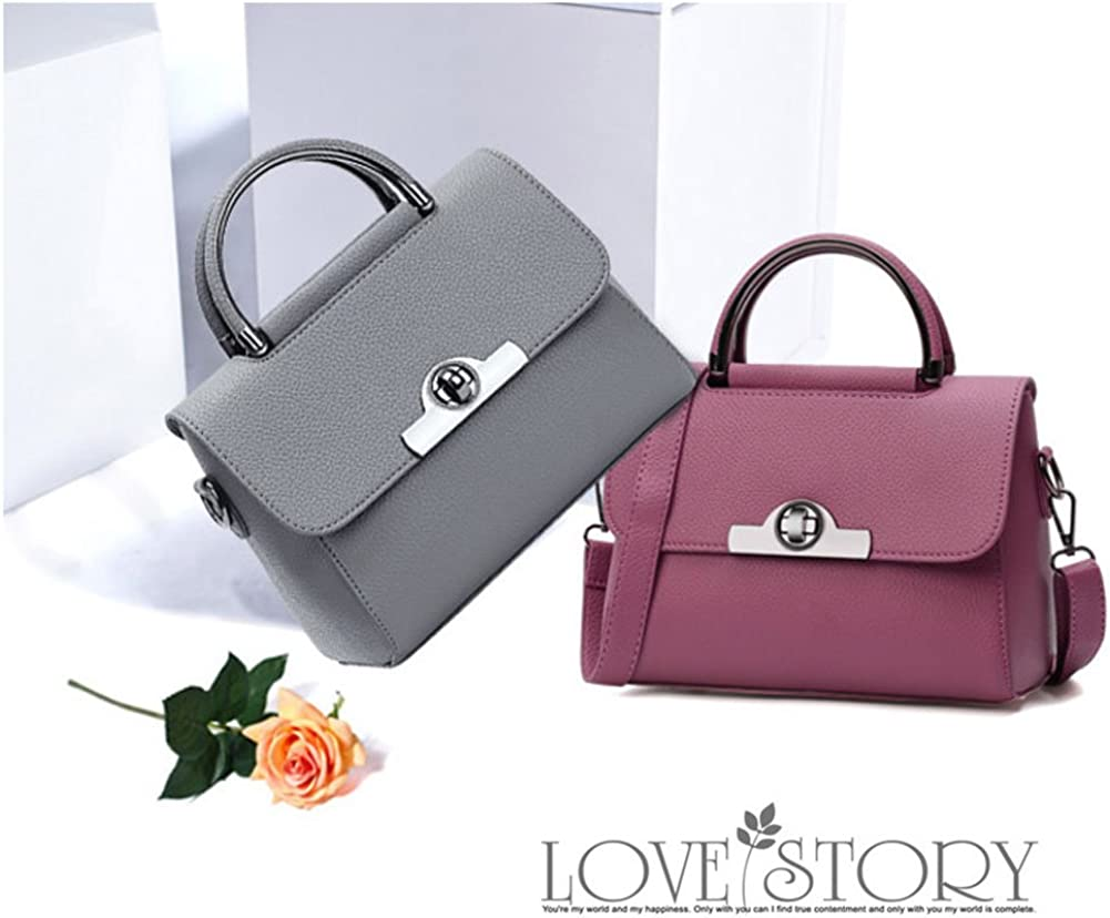 Yoome Stylish Bags For Girls Lichee Patern Top Handle Bag Vegan Leather Elegant Bags For Women