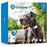 Rastreador Tractive GPS XL para perros - resistente al agua se ajusta al collar, color blanco
