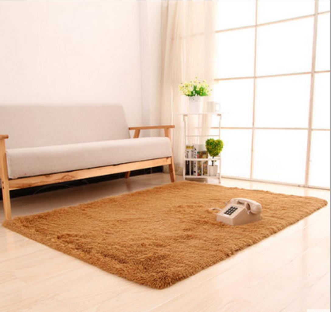 Waschbar Super Soft Soft Soft Silky Haar Teppich Nachttisch Piaoya Tür Matten, 9, 80  200 B06XT4YNSC Duschmatten efa1b9