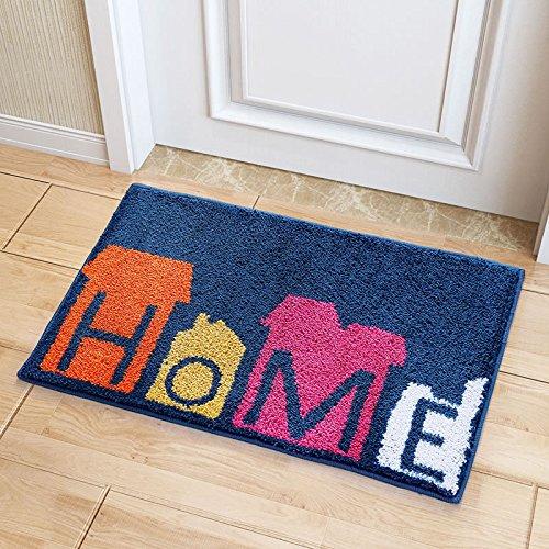 Indoor NonSlip Doormat Super Absorbs Mud Dirt Trapper Floor Mats Latex Backing Door Mat Inside Floor Entrance Rug HOME 20