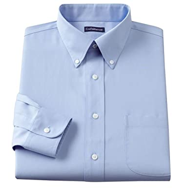Croft & Barrow Mens Classic Fit 100% Cotton Button Down Collar ...