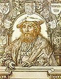 GOSSAERT JAN PORTRAIT CHRISTIAN II KING DENMARK ARTIST PAINTING OIL CANVAS REPRO 48x40inch