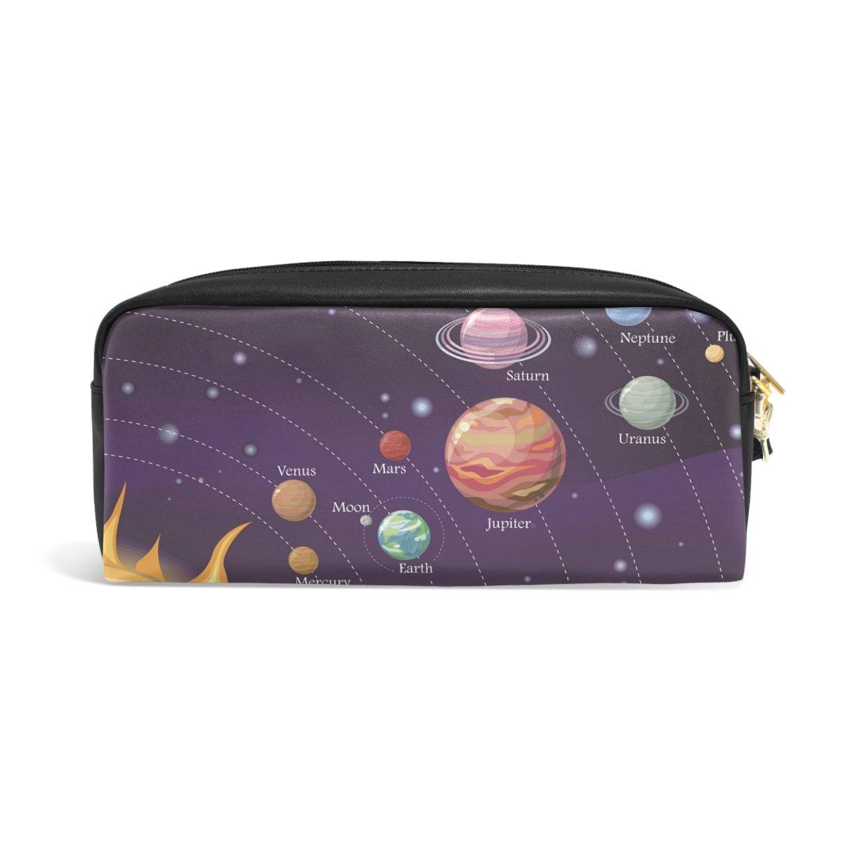 Ahomy Estuche Estuche Planetas Moon Estrellas Sol Gran Capacidad Estudiante Bolígrafo Cartera Cosmético Maquillaje Bolsa para Mujer: Amazon.es: Oficina y ...
