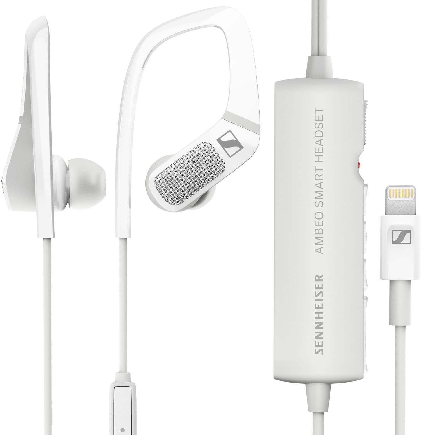 Sennheiser AMBEO Smart Headset (iOS) – Active Noise Cancellation, Transparent Hearing and 3D Sound Recording