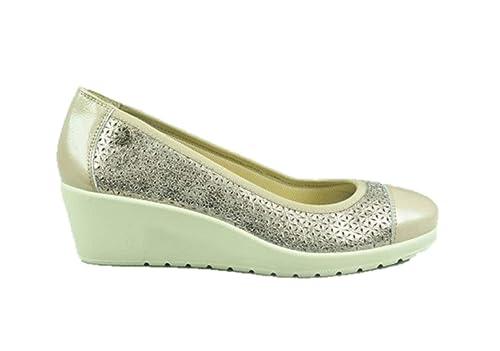 ENVAL Soft 3259833 Mocasines de cuña se Deslizan en Zapatillas de Ballet Taupe: Amazon.es: Zapatos y complementos