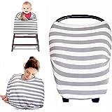 Kyapoo Baby Nursing Breastfeeding Cover Multi-Use Flexible Unisex Super Soft 100% Organic Cotton
