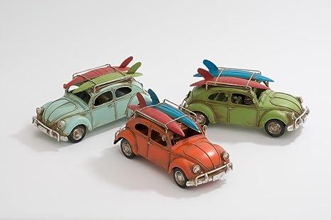 """Retro Beetle coche con tablas de surf - """"pintado a mano"""" (el"""