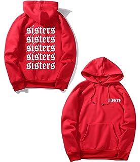 WANGRED Sisters James Hoodie James Sweatshirt Charles Sisters James Apparel