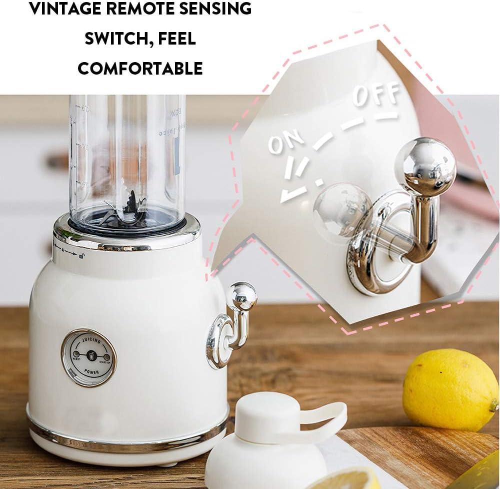 Mini licuadora, licuadora de jugos, licuadora, cuchillas 3D 6 ...