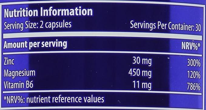 Scitec Nutrition ZMB6, 60 Cápsulas, 35.9 g: Amazon.es: Alimentación y bebidas