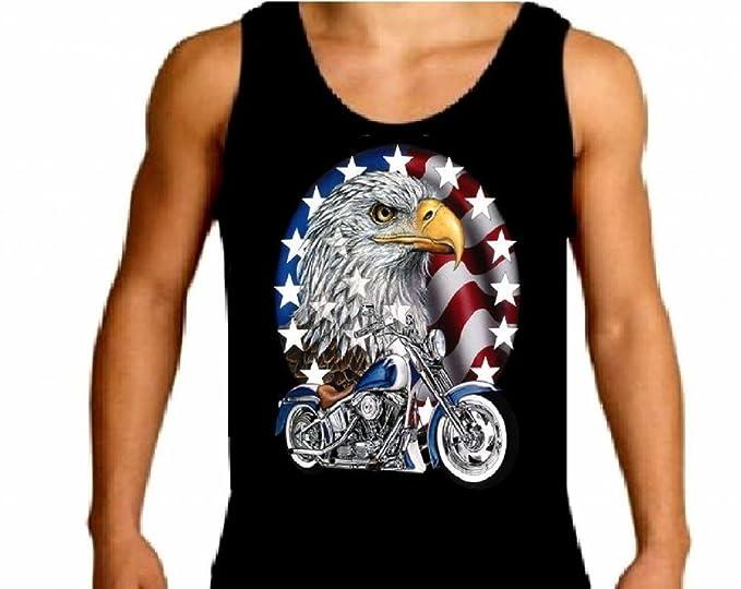 Shady Eagle Harley-Davidson Military Overseas Tour Mens Graphic Sleeveless T-Shirt