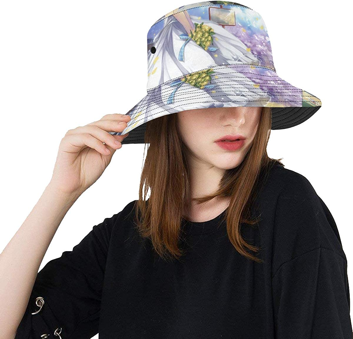Teen Girls Bucket Hats Fisherman Caps Women Wide Brim Sun Hats