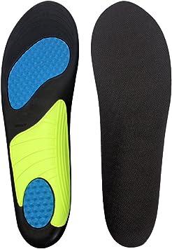 SUSCONG インソール 疲労軽減 通気 抗菌防臭 アーチサポート 衝撃吸収中敷き 足首の痛み、足底筋膜炎 ウォーキング スポーツ 中敷き サイズ調整可能 男女兼用