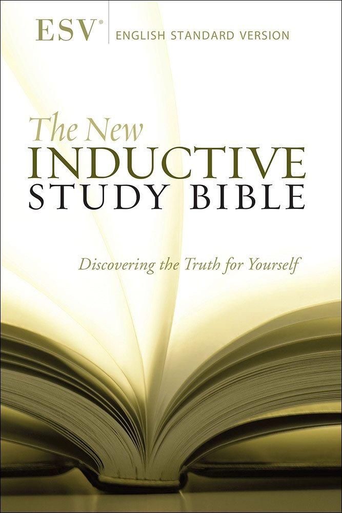 The New Inductive Study Bible (ESV): Amazon co uk: Precept