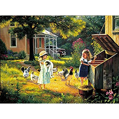 Sunsout 53004 Keathley Simple Treasures Puzzle 500 Pezzi