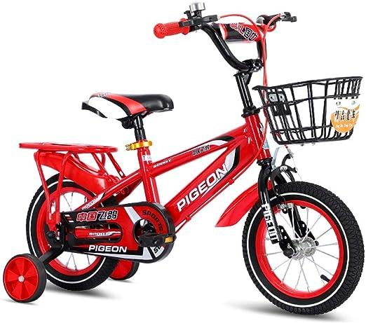 SONG Bicicleta para niños 2-3-4-6-7 Asiento Años De Edad Bicicleta ...