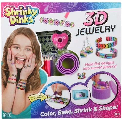 Shrinky Dinks Bake and Shape 3D Jewelry