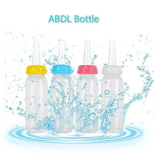 4 Farben/Milchflaschen Perfekt f/ür Alter PlayLittle Space Flasche Daddy Little Girl JP0SDD 4 St/ück Erwachsene///Babyflasche/