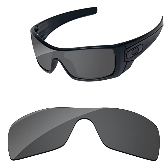 db7394525e Amazon.com  PapaViva Lenses Replacement for Oakley Batwolf Black ...