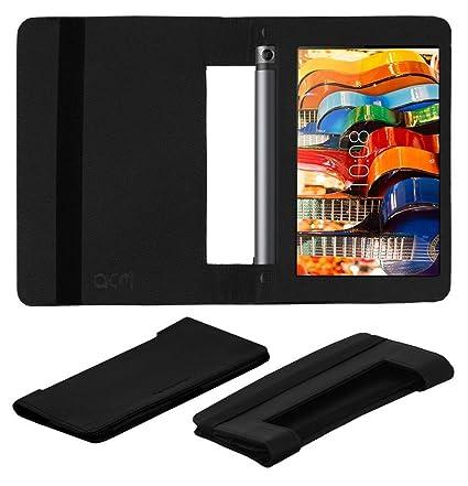 sports shoes 920be e8423 Acm Executive Flip Case for Lenovo Yoga Tab 3 8 Tablet Full Cover Black
