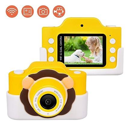 Upgrow Cámara digital WiFi para niños, cámara infantil HD con ...