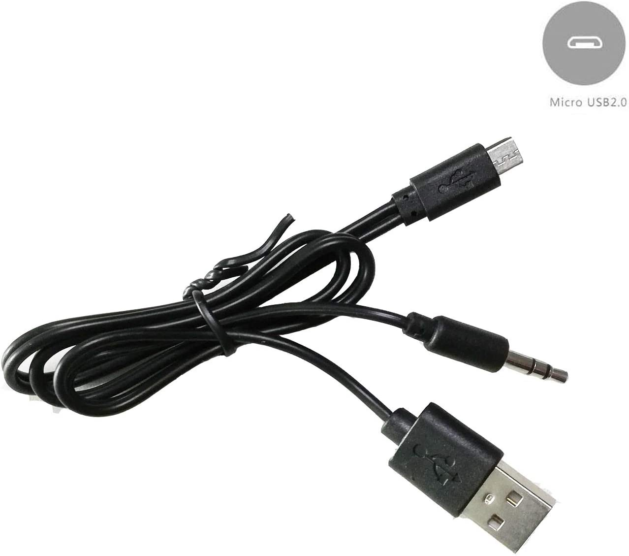 2Port USB2.0 Double Head Connection Converter Adapter Connector Male To Male USB