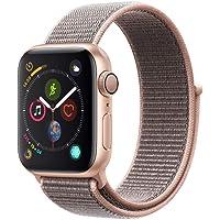 Pulseira Rosa Apple Watch 38mm 40mm Nylon Loop Velcro para Watch Series 1, 2, 3, 4