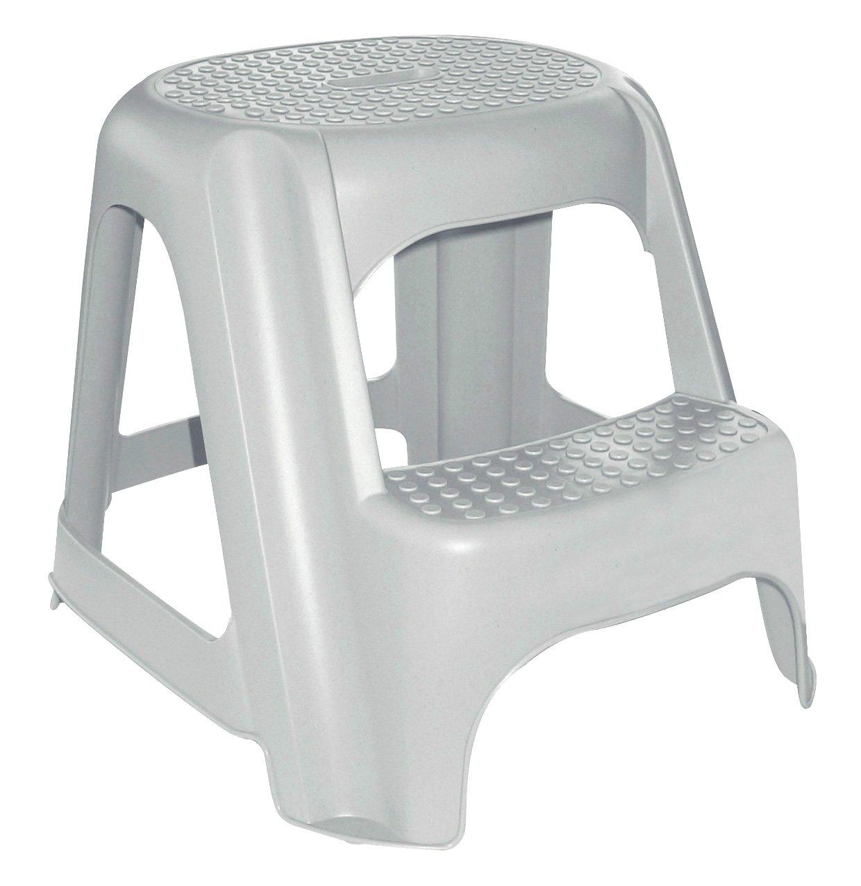 Allibert 191579 - step stools (Grey, Monotone)