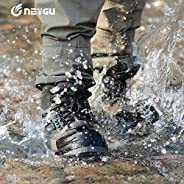 NEYGU Breathable Fishing Shoes, Wading Boots with Felt Sole for Fishing,Hiking and Hunting Used for Neoprene S