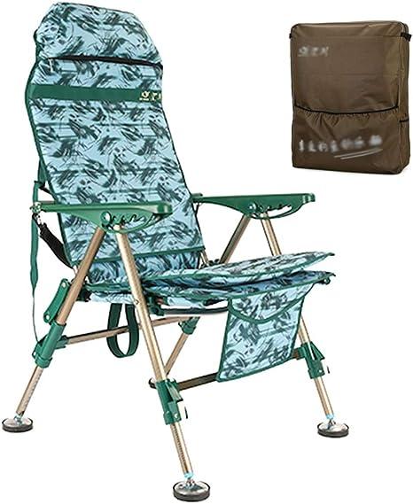 ZAQI Silla Pesca Silla Plegable for taburetes de Camping, Mini ...