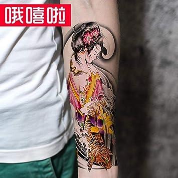 Tatuaje Original Sakura Beauty Prajna Arms Impermeable Tatuaje ...