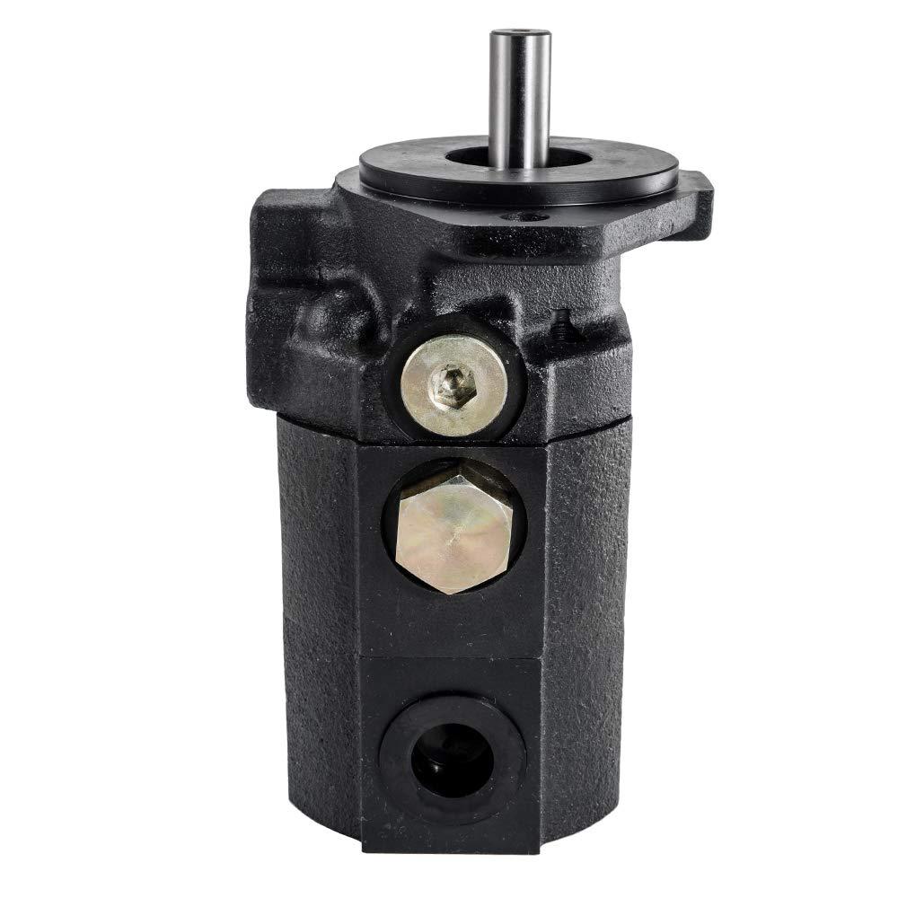 Max Motosports Hydraulic Two 2 Stage Gear Pump 22 GPM Logsplitter Hi Lo Haldex 1300488