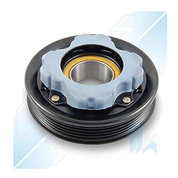 climática Compresor Polea con silenciador, denso 6seu12 C, 5pk (PV5), 110,00/115,00 mm, MERCEDES-BENZ: Amazon.es: Coche y moto