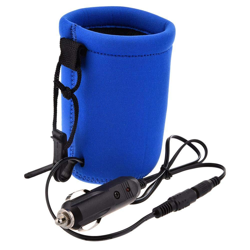 Enjoyall DC 12V Baby Flaschenw/ärmer Heizung USB Auto Milch W/ärmer Heizung f/ür Auto