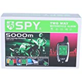 SPY 5000m 2 Voies LCD Moto Système D'alarme avec télécommande Moteur Démarrage Débutant et Micro-onde Capteur