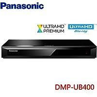 Panasonic DMP-UB400 4K Ultra HD Premium, 3D Blu-Ray Player