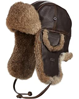 f279f064 frr Classic B-3 Shearling Sheepskin Aviator Hat at Amazon Men's ...