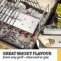 BBQ Smoking wood chips for gas electric and charcoal BBQ Food Smoker NICE FRESH