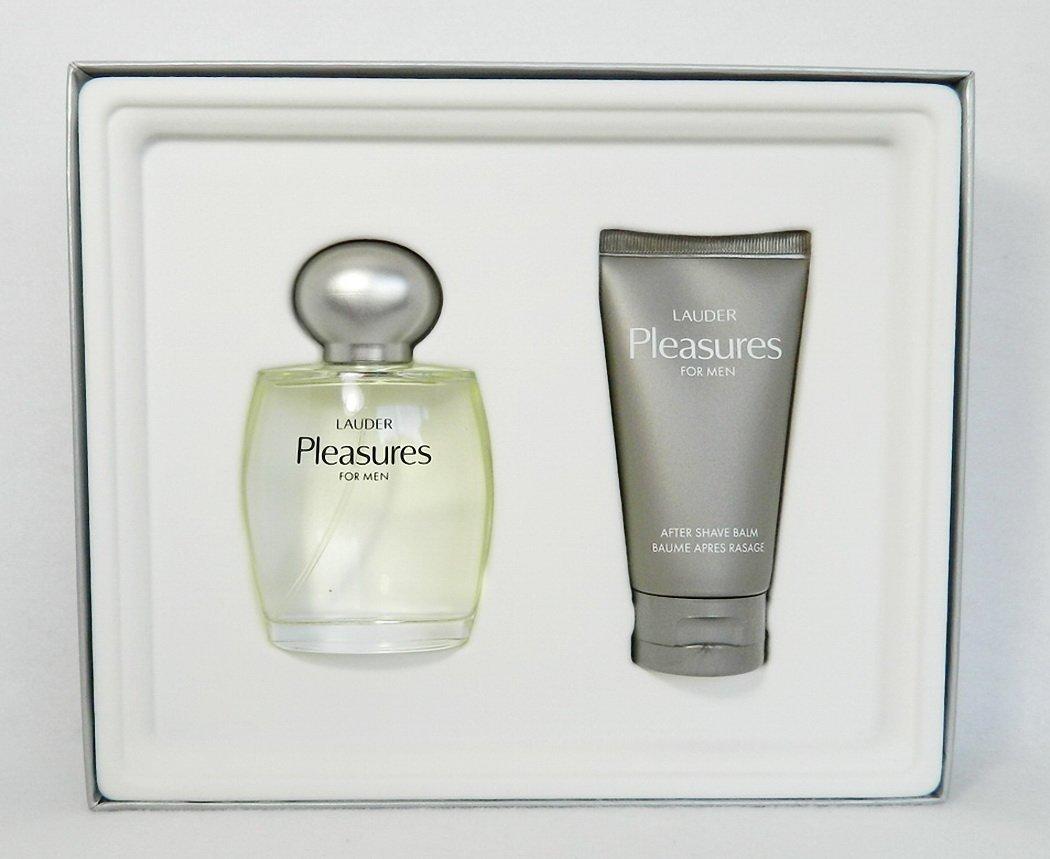 Amazon.com : Lauder Pleasures for Men Cologne Spray 3.4 Oz and ...