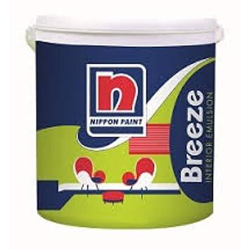 Liquid Nippon Breeze Interior Emulsion Paint White 4 L