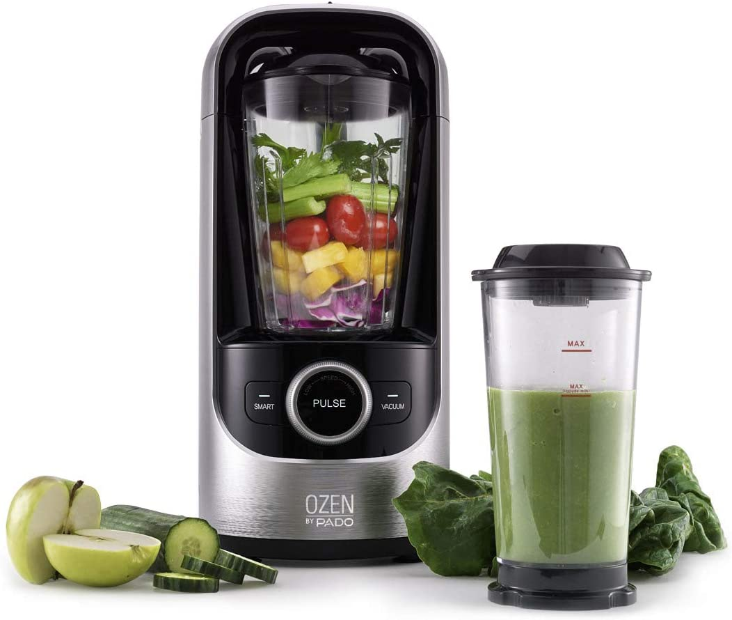 Pado Ozen 500 Vacuum Blender, Countertop Kitchen Blender