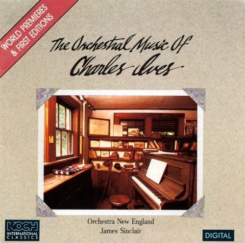 Ives: Country Band March; 4 Ragtime Dances; 3 Places In New England; Calcium Night Light; Postlude In F; Etc. (New Places)