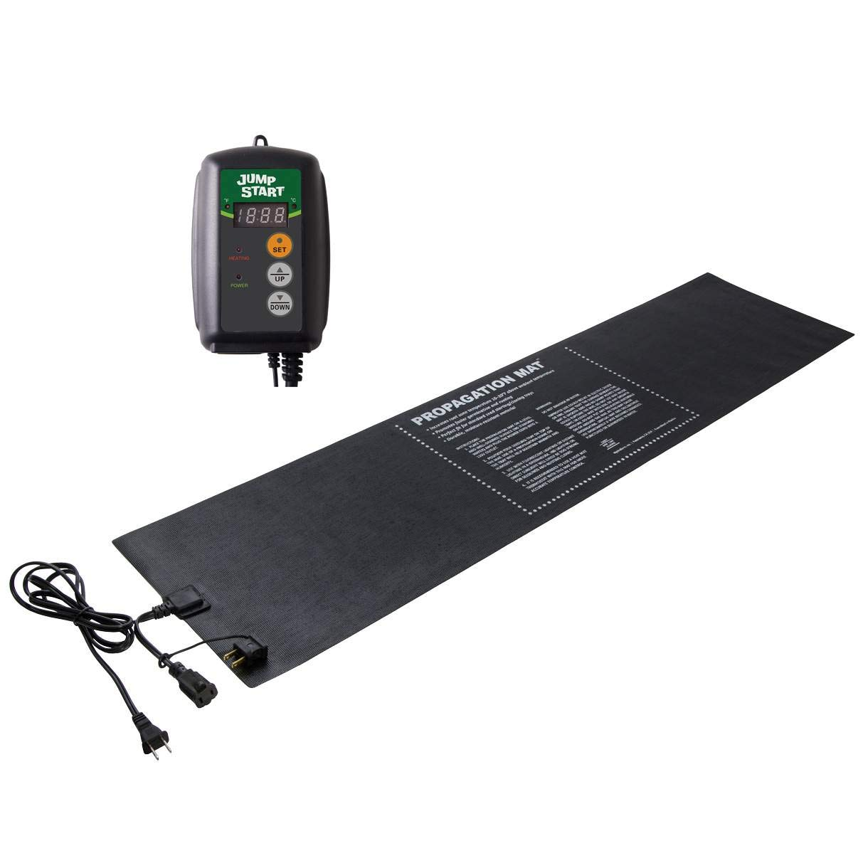 Hydrofarm 12 x 48-Inch Propagation Mat + Digital Thermostat