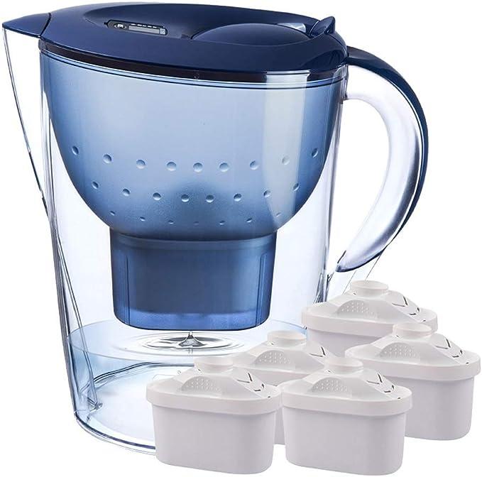 Hervidor de agua for filtración y suministro de agua, purificador de agua azul: Amazon.es: Hogar