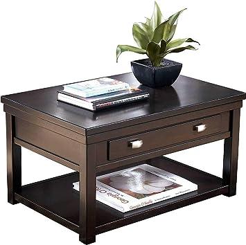Amazon Com Ashley Furniture Signature Design Hatsuko Coffee Table