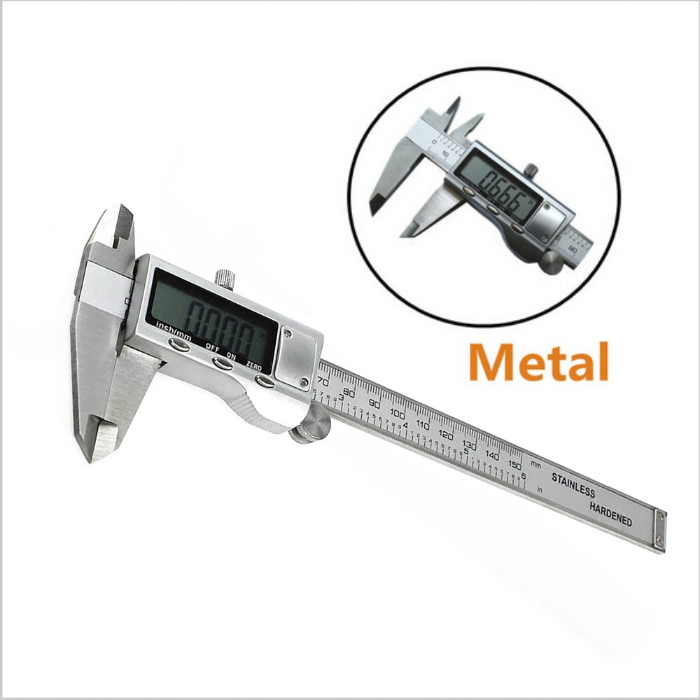 XYXDI 150mm/6-inch Stainless Steel Electronic Digital Vernier Caliper Micrometer by XYXDI (Image #6)