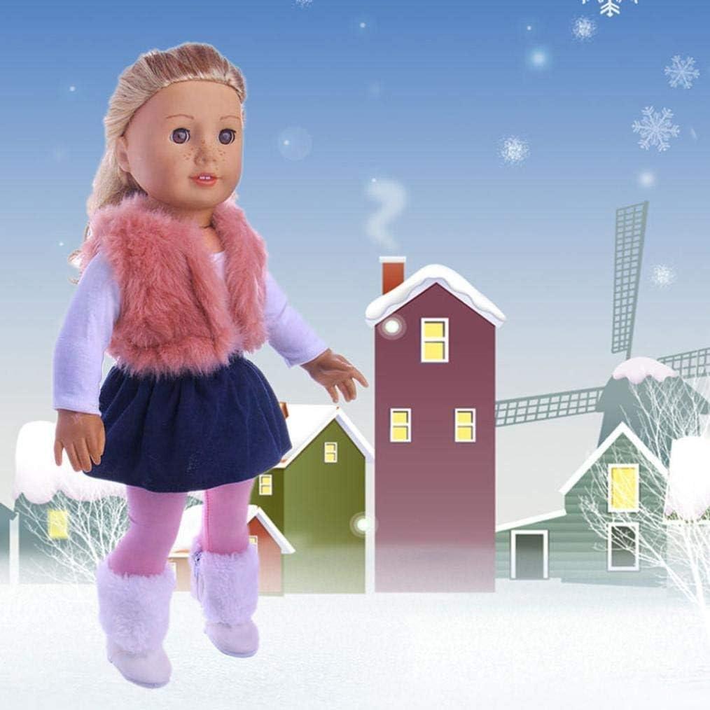 HDMI SM Doll Pajamas Sleepwear Cute Nightwear Sleepwear Doll Clothes Dressing Your Beautiful Dolls 18 Inch