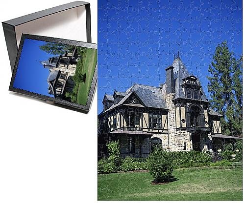 Photo Jigsaw Puzzle of Frederick Beringer s Rhine House at the Beringer Brothers vineyard (Beringer Winery California)